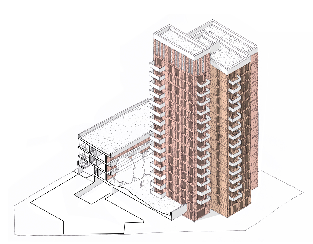Cairo Place Final Sketch