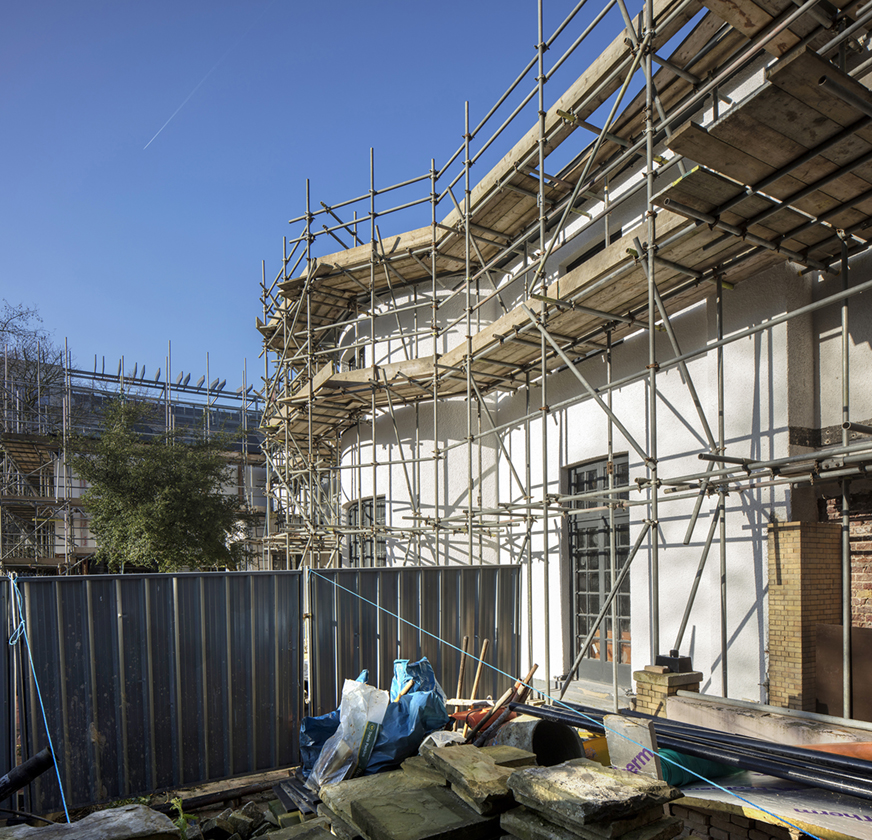 Thorpe Lodge Construction 5