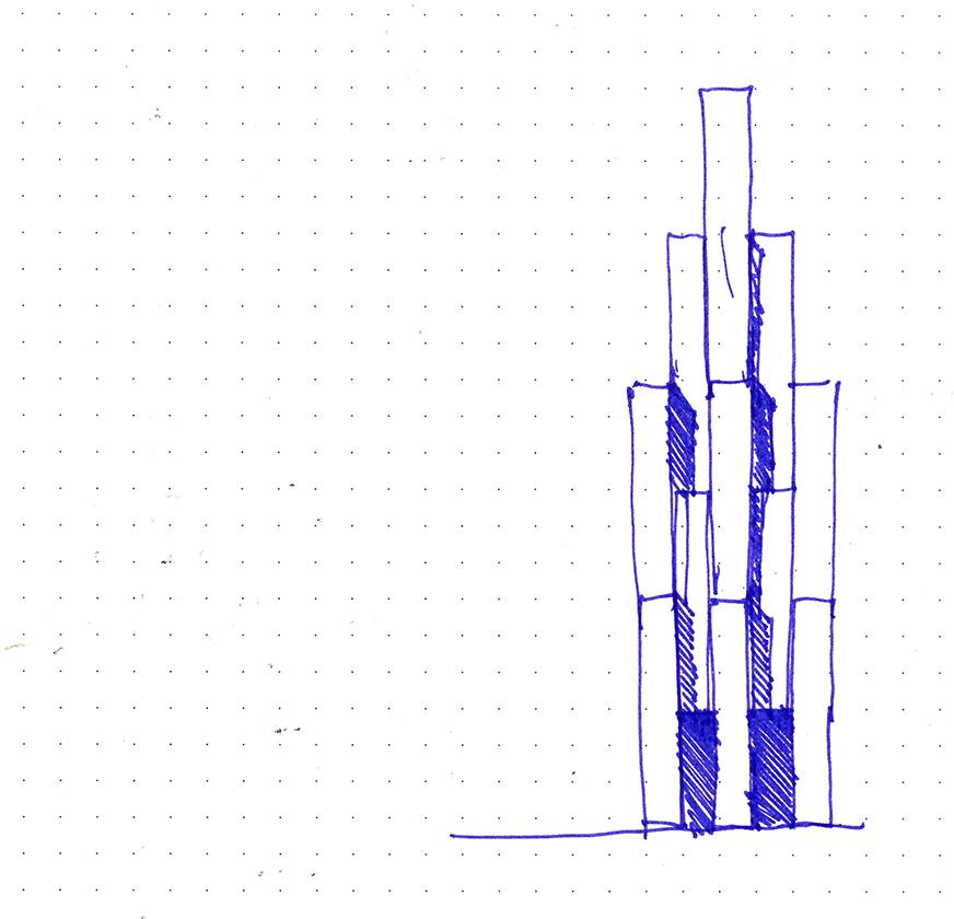 Turkestan Museum Concept Sketch