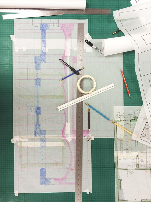 Bedford Road Model Making